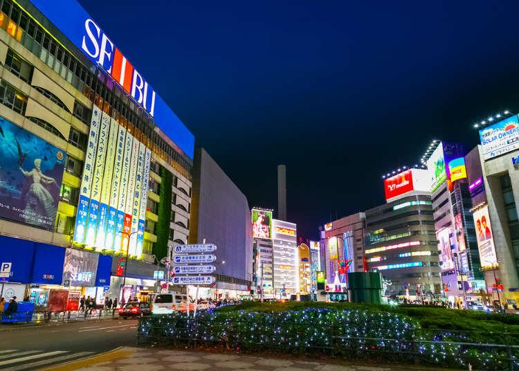 10 langkah untuk membiasakan diri di Ikebukuro