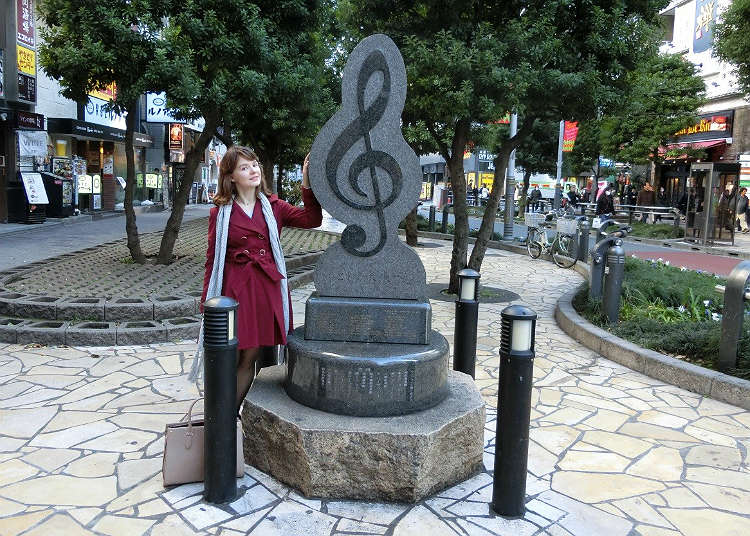 Musical Note Monument