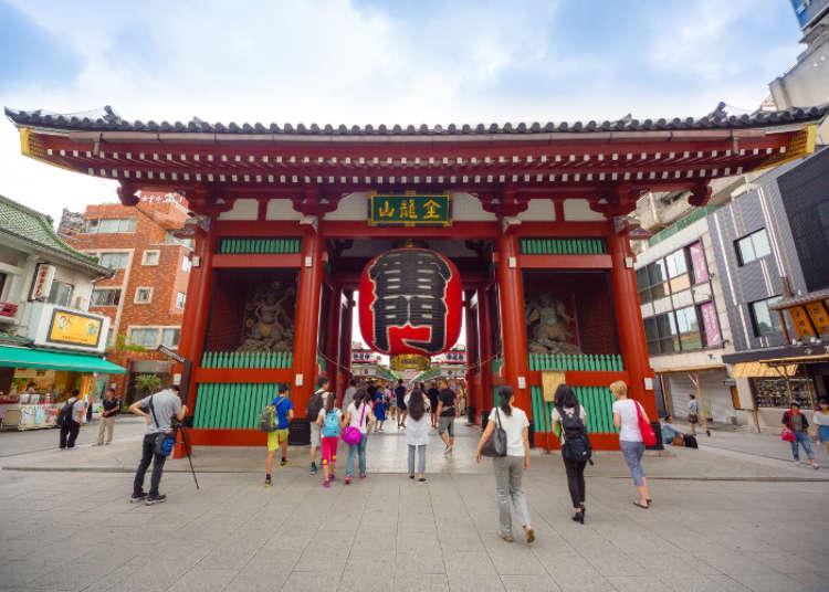 "Jom kita melawat kuil-kuil di Asakusa sambil mengumpul ""Goshuin"""