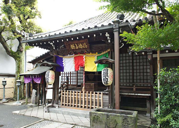 Hashibaji-fudoin and a 700 Year Old Ginkgo Tree