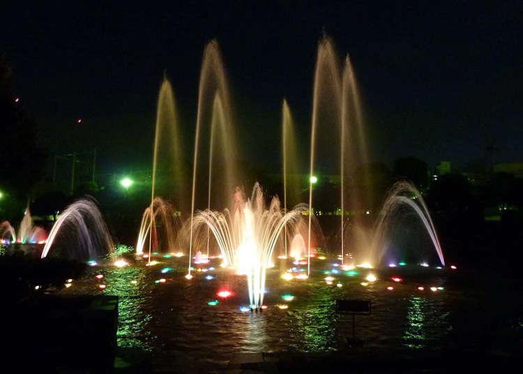 都市公園100選に選ばれた代表的な公園