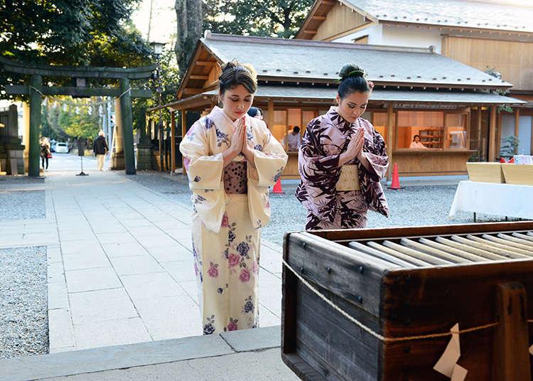Mengunjungi kuil dan merasakan budaya tradisional Jepang