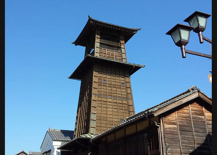 400年前から時を告げる街のシンボル