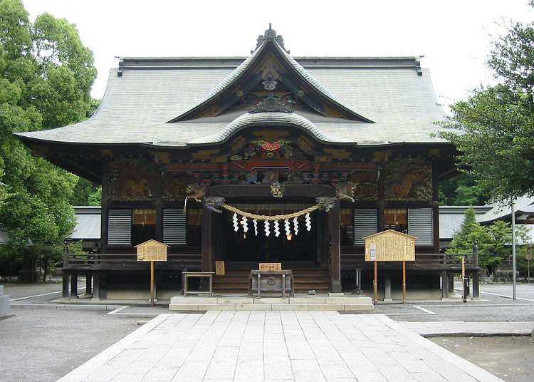 Chichibu Shrine with layers of history