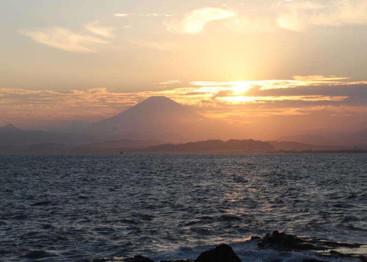 Percutian singkat untuk melihat pantai! Bersiar-siar di Enoshima