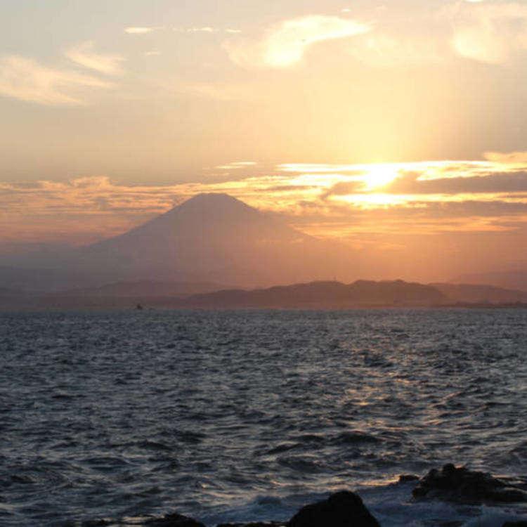 看海景的小旅行!到江之島悠閒散步