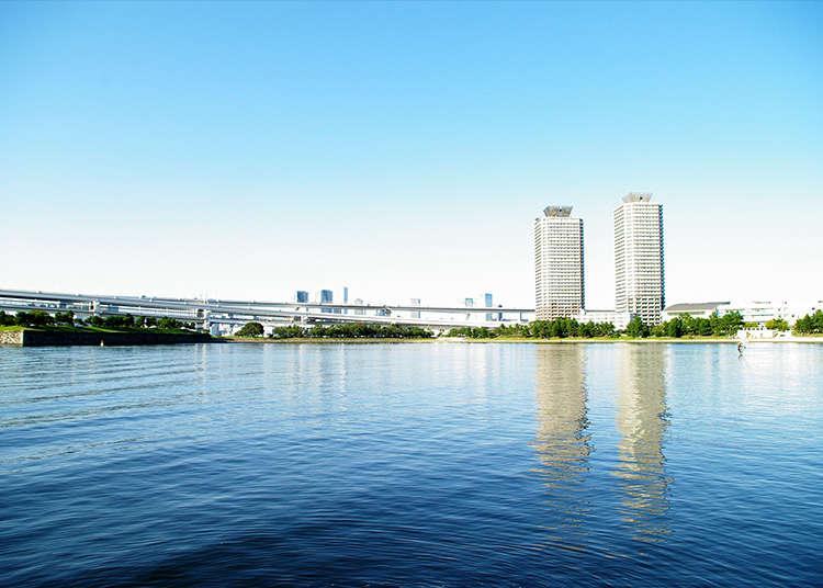 Marilah mengelilingi Odaiba buat pertama kali dengan pelan ini