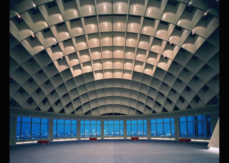Hachitama - Fuji TV's Spherical Observation Room
