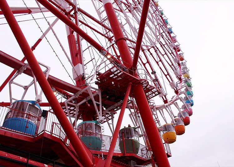 """Melihat pemandangan di """"Ferris Wheel Palette Town"""""""