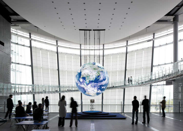 Try Out Futuristic Technology at the Miraikan