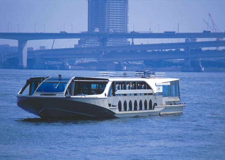 8. Take a Mini Cruise and Enjoy Odaiba's Scenery by Sea Bus