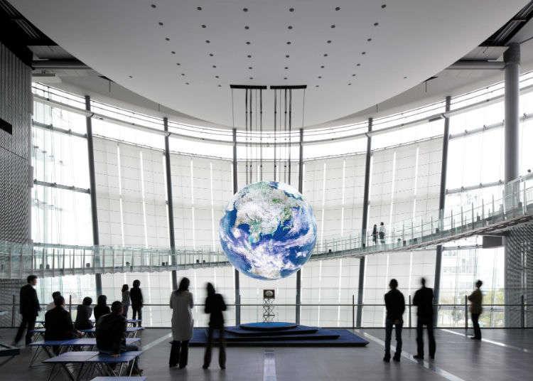'일본 과학 미래관'에서 첨단 과학을 체험하자