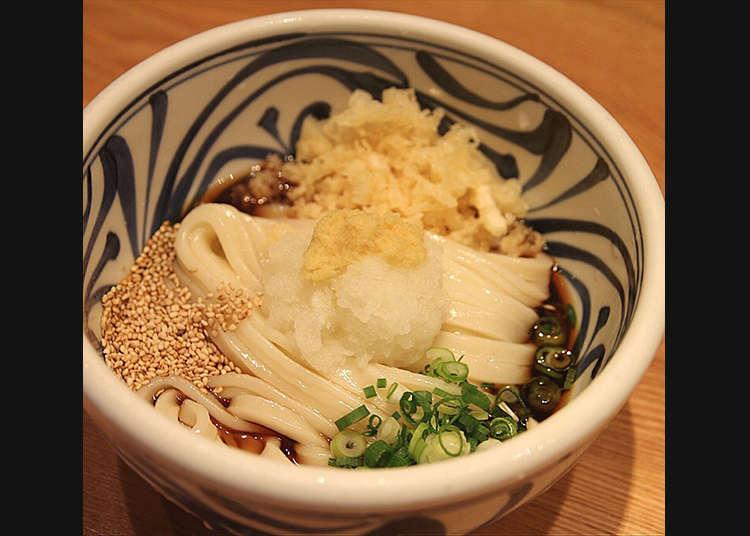 Udon Pilihan di Sanuki Udon Nenotsu
