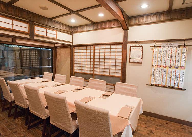 Angela, Italian Cuisine in a Traditionally Japanese House