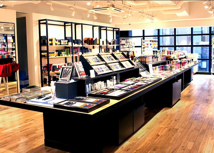 Satu-satunya kedai pakar alat tulis yang serba lengkap di Jepun