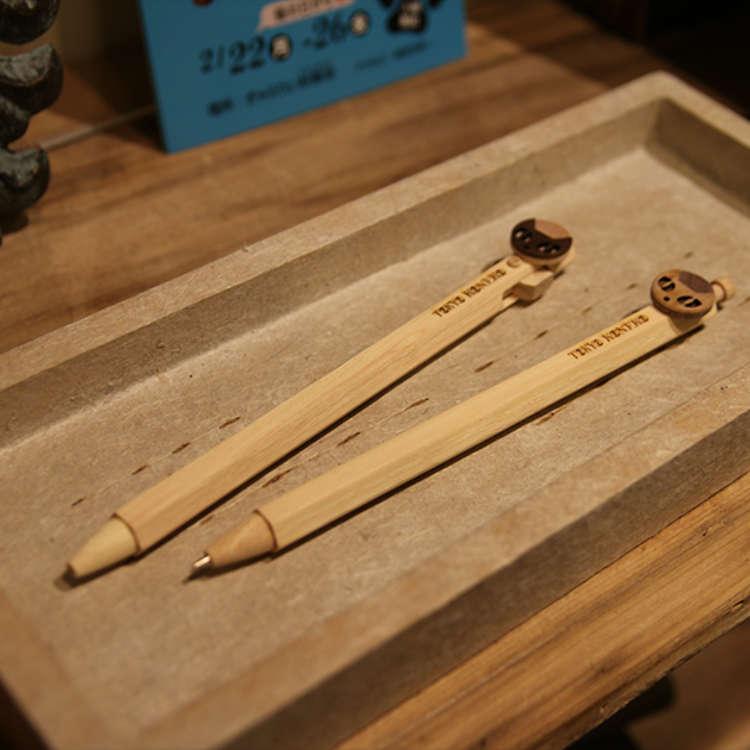 典雅而温暖的木制文具