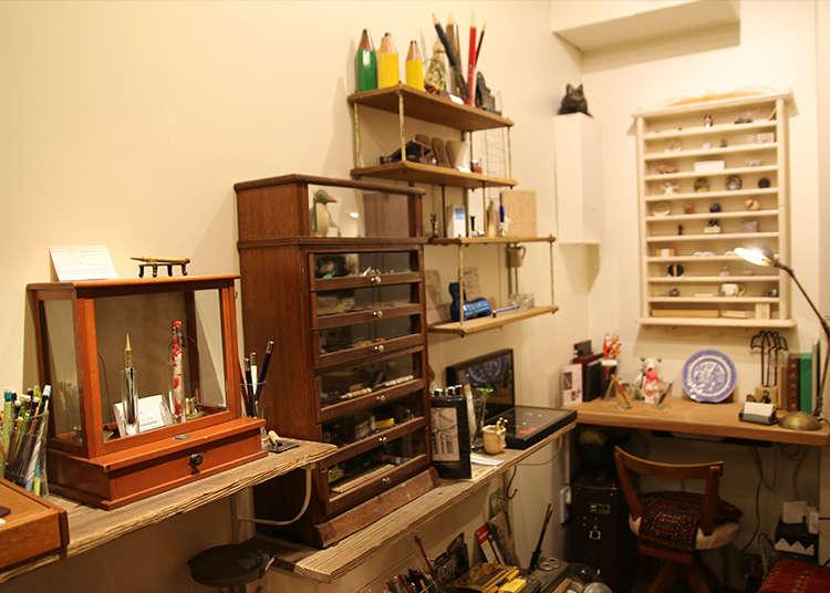 原子筆與鉛筆的專賣店「五十音」