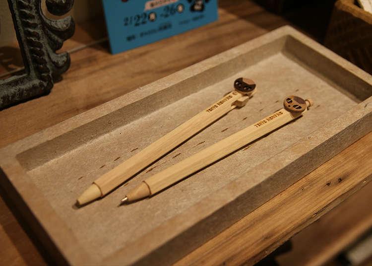 手感溫順的木製文具