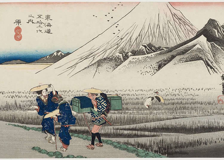 The Boldness of Ukiyo-e