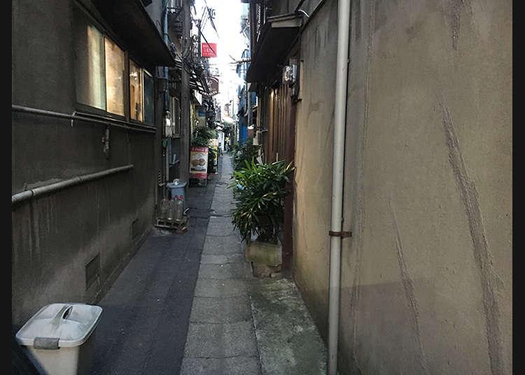 Deretan rumah di shitamachi