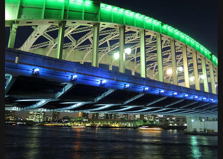 文化財「勝鬨橋」
