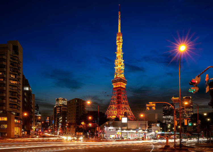 東京必訪景點,幸福傳說的東京鐵塔