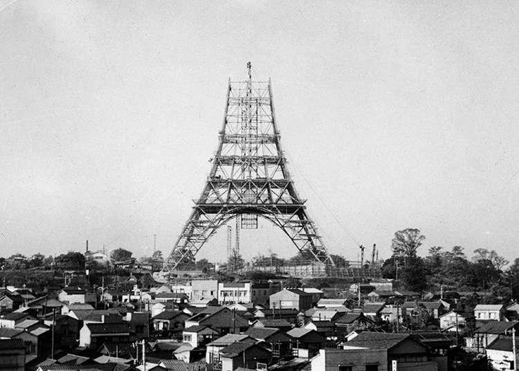 东京塔的历史