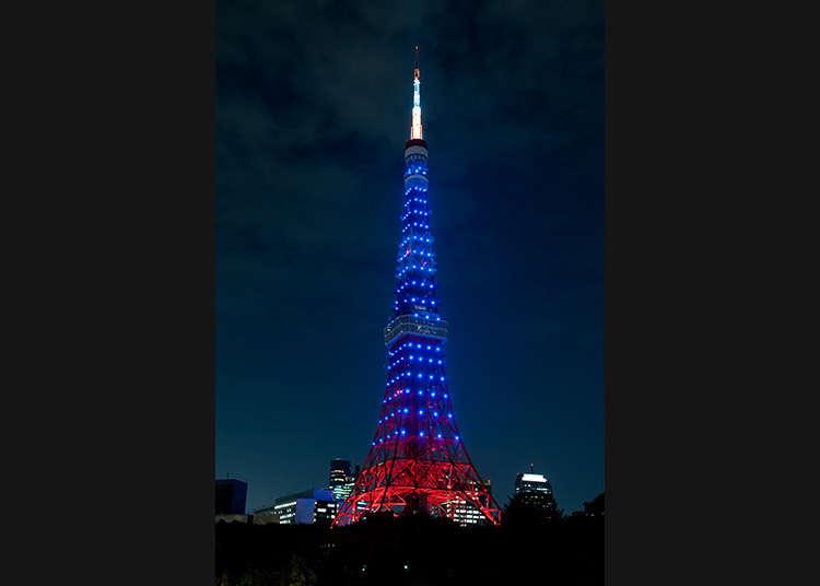 据说能看到东京塔关灯的情侣在一起会幸福的