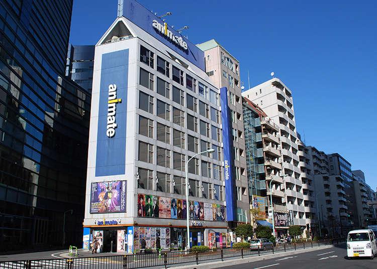 อาคารที่โดดเด่นสะดุดตาของถนนสายโอโตเมะต้องที่นีเลย