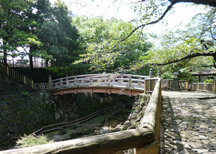 王子駅から徒歩0分!「音無親水公園」