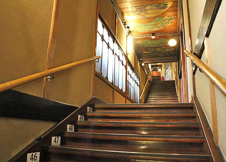 'Hyaku-dan Kaidan' (Seratus anak tangga) yang menakjubkan