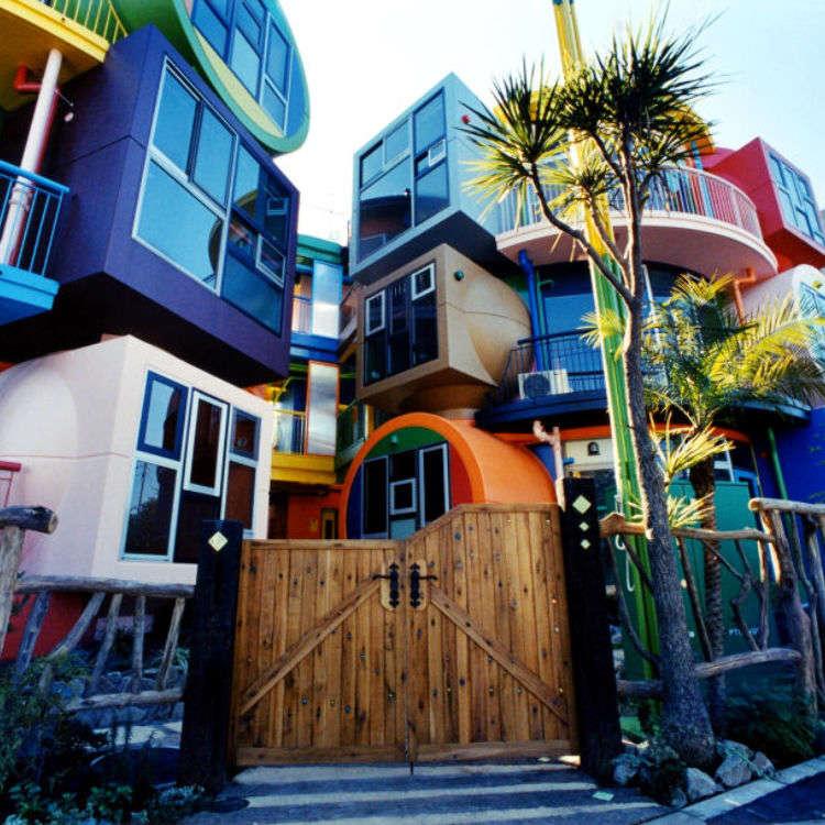 "Keaslian arsitektur Tokyo ""Reversible Destiny Lofts of MITAKA"""