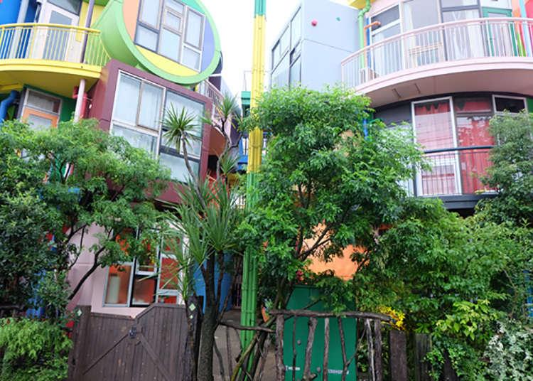 Bangunan berseni dengan corak warna penuh keunikan yang anda boleh lawati