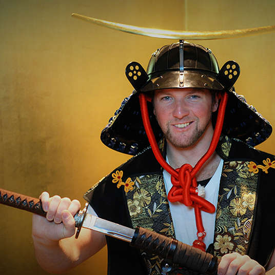 Become a Samurai at the Samurai Museum in Tokyo!