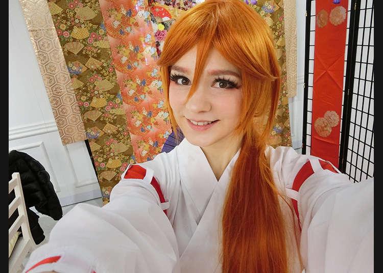 试体验一下日本的cosplay吧!