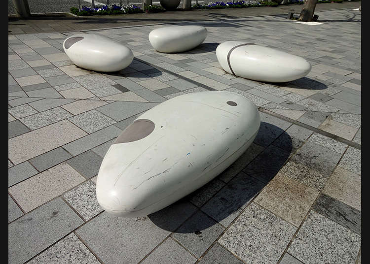 The benches are also arts!