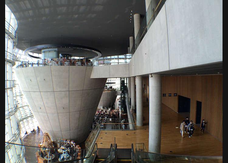 在美術館享用午餐