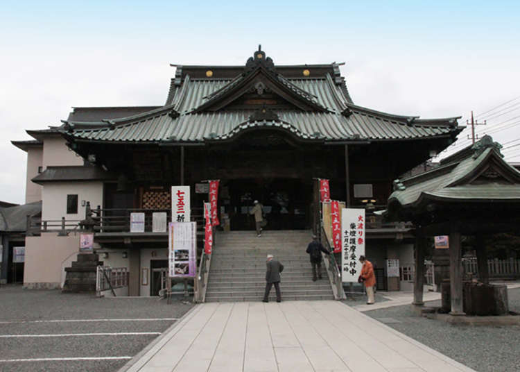 Kota Kawagoe kaya akan kuil Buddha dan kuil Shinto.