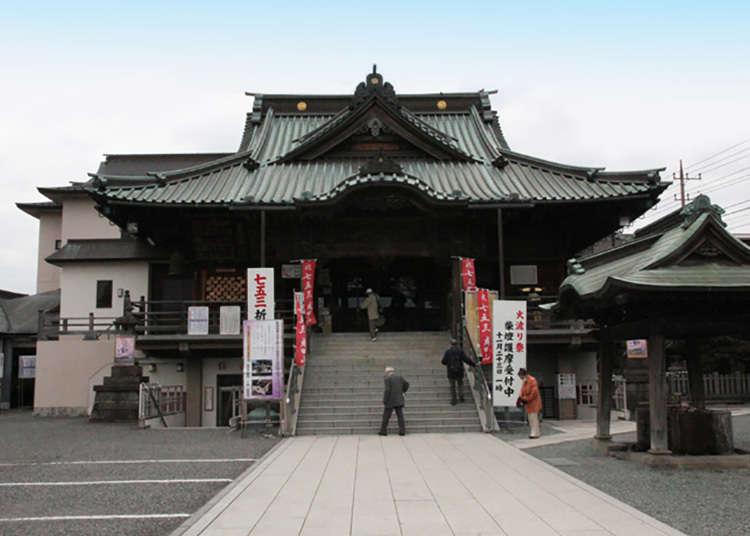 拥有很多神社和寺院的川越