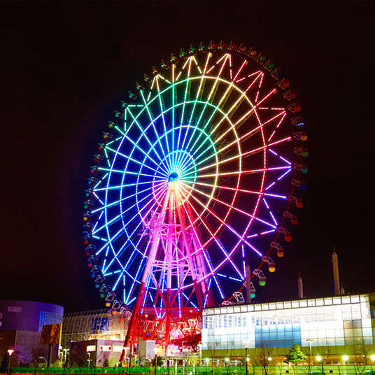 Odaiba is Full of Entertainment! Don't miss a thing!!