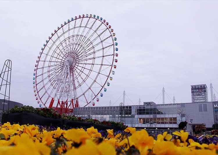 Menikmati Pemandangan Tokyo yang Menakjubkan dengan Kincir Ria Raksasa