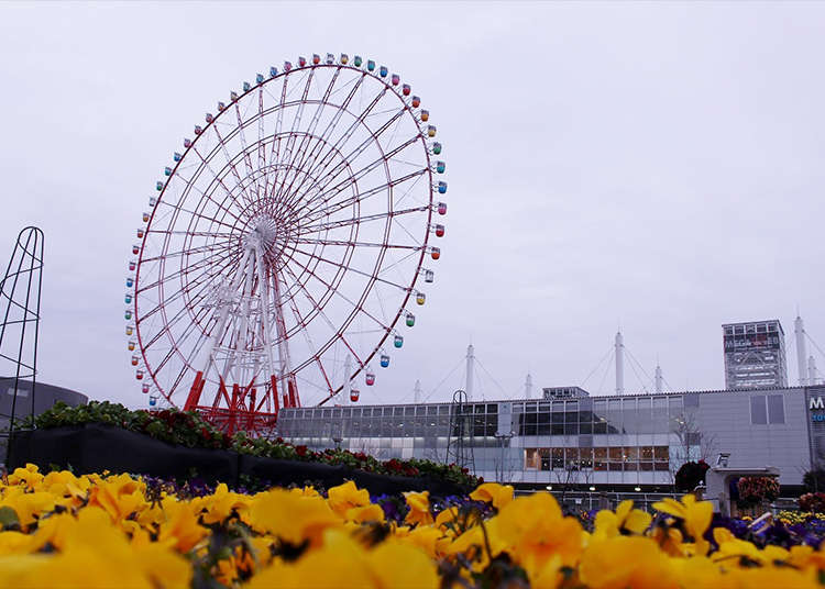 """乘坐""""大摩天轮""""独占东京的绝佳美景"""