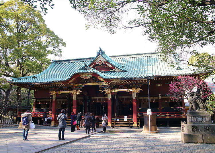 Nezu Shrine - an important cultural property of Japan
