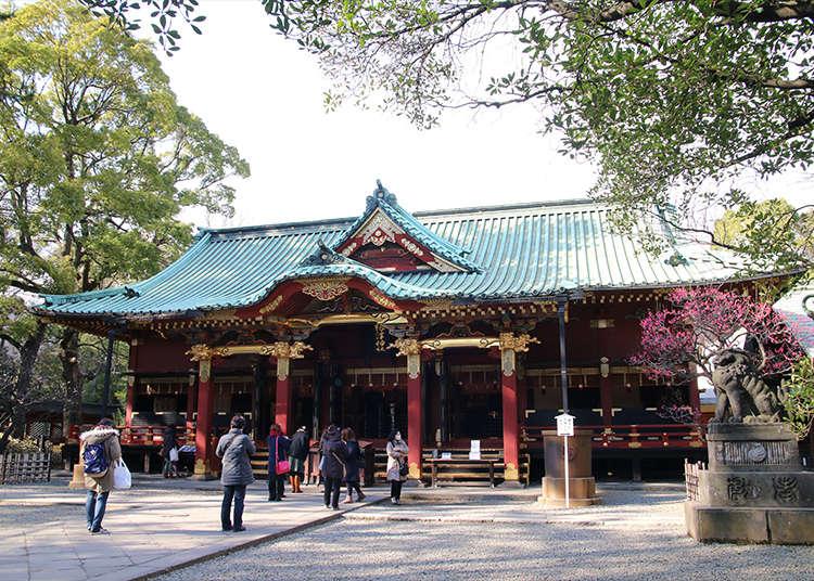 国の重要文化財「根津神社」