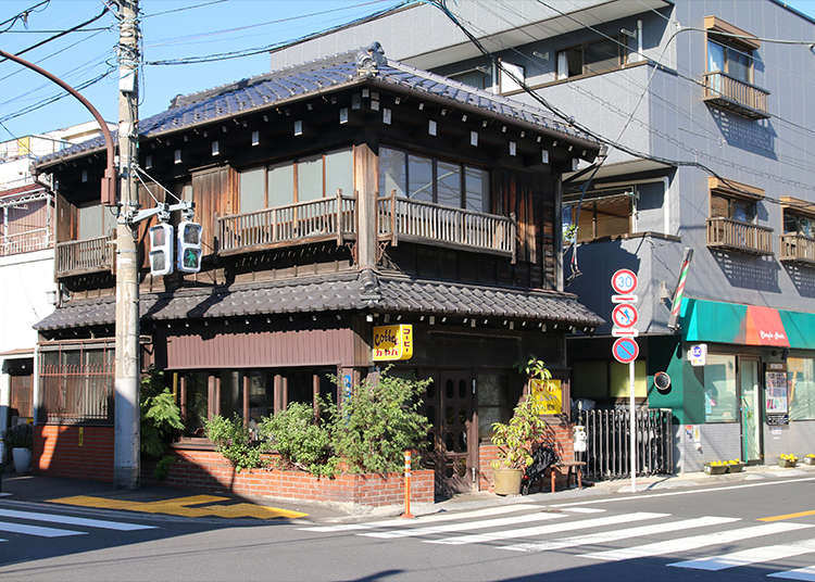 """已建100年的老民居咖啡屋""""Kayaba咖啡"""""""