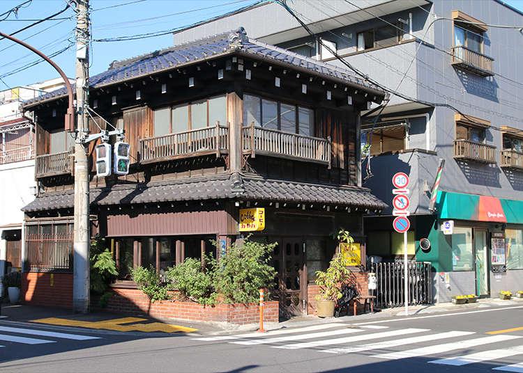 百年建築的古老民家咖啡廳「kayaba珈琲」