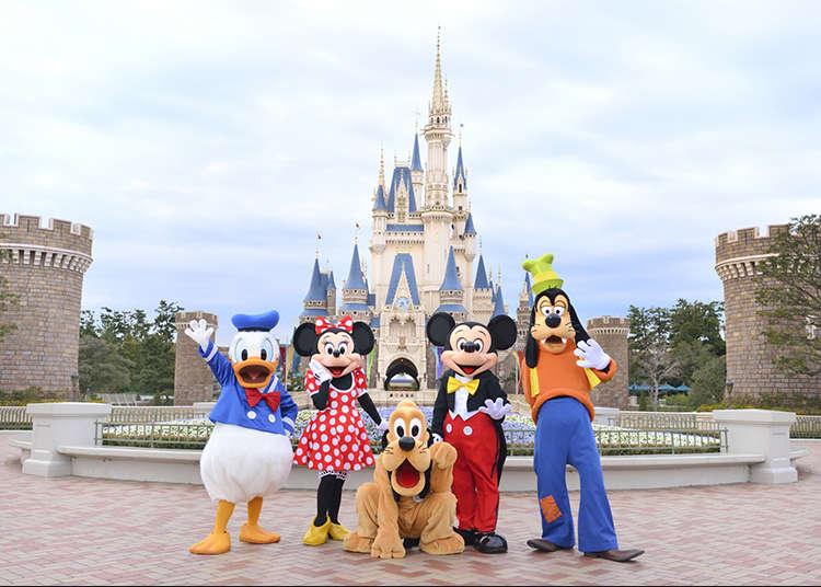 Empat Trik Menikmati Tokyo Disneyland untuk Pertama Kali