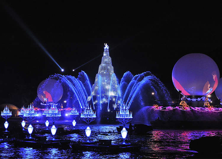Enjoy the night with Fantasmic!