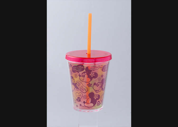 Cups with a straw!