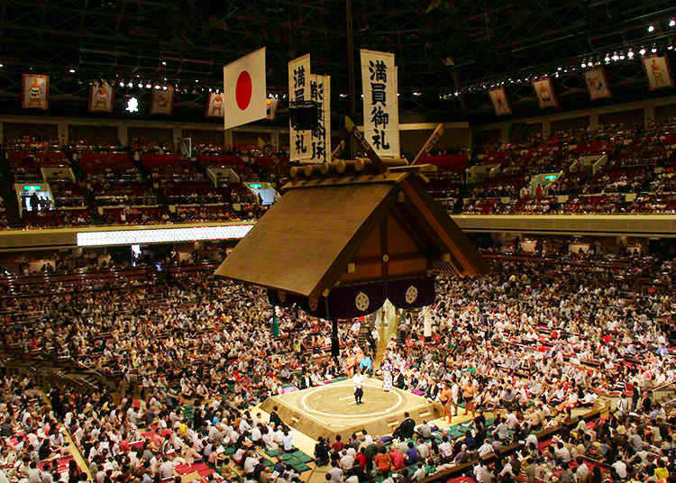 盡享日本國技!觀賞精彩相撲比賽